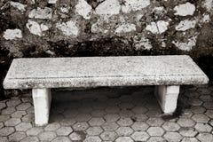 长凳石头 免版税库存图片