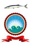 长凳竹刀鱼 免版税库存图片