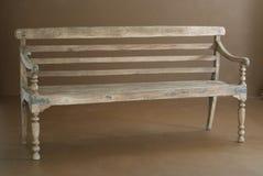 长凳经典木 免版税库存图片