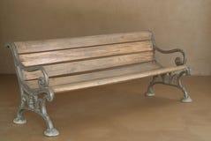 长凳经典木 免版税库存照片