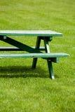 长凳草坪 库存图片