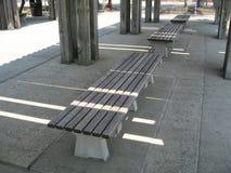 长凳荡桨木 免版税库存图片