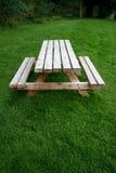 长凳野餐 图库摄影