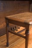 长凳钢琴 免版税库存照片