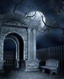 长凳陵墓 库存例证