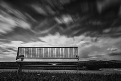 长凳,位子 免版税库存照片