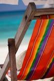 长凳绿色地点假期 图库摄影