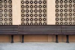 长凳 免版税库存图片