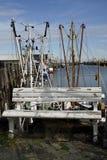 长凳cuxhaven 库存图片