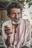 年长印第安人 图库摄影