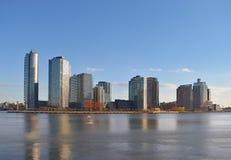 长城市的海岛 库存图片