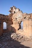 长城的废墟 免版税库存图片