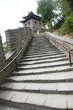 长城,北京,中国 免版税图库摄影