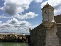 长处da Ponta da Bandeira 免版税库存照片