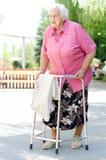 年长妇女 库存图片