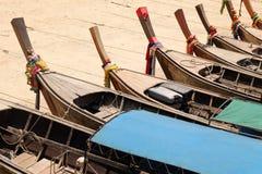 长尾的小船/泰国 图库摄影