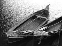 长平底船在佛罗伦萨 库存图片