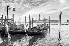 长平底船威尼斯 图库摄影