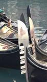 长平底船的弓 免版税库存图片