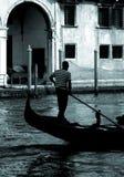 长平底船系列威尼斯 免版税库存照片