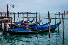 长平底船,圣Marco,威尼斯,意大利 免版税库存图片