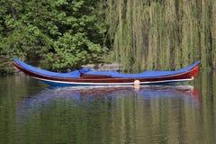 长平底船,威尼斯小船 库存图片