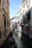 长平底船-威尼斯式小船 库存照片