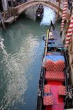 长平底船-威尼斯式小船 免版税库存图片