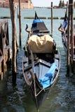 长平底船-威尼斯式小船 图库摄影