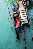 长平底船 库存照片