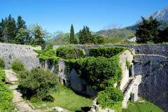 长得太大的营房堡垒Spanjola的看法 库存照片