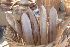 长方形宝石大面包-食物市场 免版税库存照片