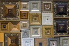 长方形宝石样品。 库存图片