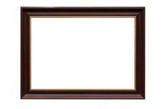 长方形宝石框架图象白色 免版税图库摄影