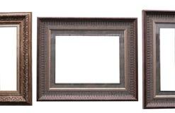 长方形宝石框架 库存照片
