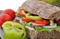 长方形宝石褐色饮食蔬菜 库存照片