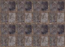 长方形对称块背景木纹理系列与分离的 免版税库存图片