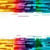 长方形数字技术抽象背景数据futuristi 皇族释放例证