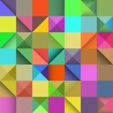 长方形无缝的样式,导航抽象背景 免版税库存照片