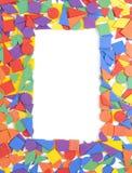 长方形框架 库存照片