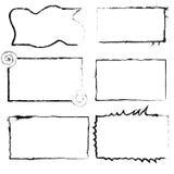 长方形的框架 库存图片