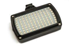 长方形LED手电 库存照片