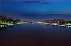 长春Yitong河 库存照片