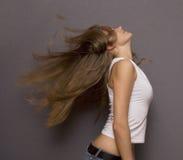 长期头发 图库摄影