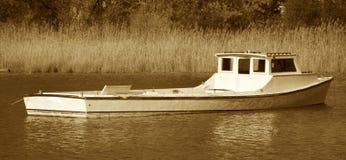 长期小船 免版税库存图片