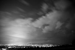 长期显示的cloudscape 库存图片
