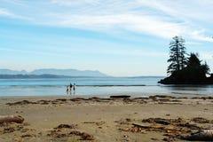 长期海滩 免版税库存照片