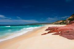 长期海滩 图库摄影