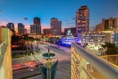 长期街市海滩 免版税库存图片
