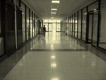 长期走廊 免版税库存照片